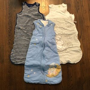 Winter Sleep Sack Bundle-3 pieces
